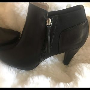 Adrienne Vittadini Leather Bootie